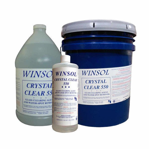 Window Cleaning Supplies Winsol Crystal Clear 550